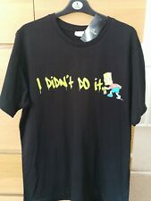 Bart Simpson's 'I Didn't Do It' T-shirt *LARGE BNWT*
