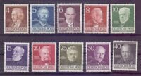 Berlin 1952 - Berühmte Männer MiNr. 91/100 postfrisch** - Michel 130,00 € (509)