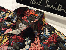 "PAUL SMITH Mens Shirt 🌍 Size S (CHEST 40"") 🌎 RRP £95+ 📮 ABSTRACT FLORAL PRINT"