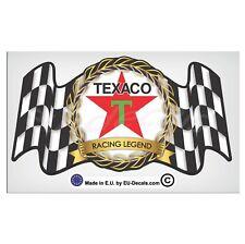 150mm-5.9'' Vintage Texaco Racing Legend Laminated Decal Sticker classic car vw