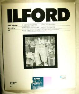Ilford Multigrade IV RC DE LUXE Glossy 24 x 30,5 10 Blatt