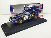Corgi VA12106 - Subaru Impreza 555 Network Q RAC Rally 1995  Escala 1/43 Diecast