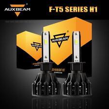 Auxbeam H1 COB LED Headlight Kit Bulbs 60W 6000LM High or Low Beam 6500K White
