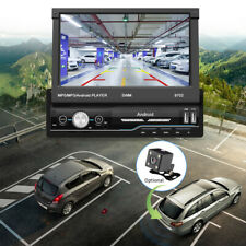 """7""""1DIN Android 8.1 MP5 Player Car Stereo Bluetooth GPS FM USB Radio WiFi System"""