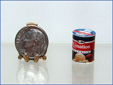Dollhouse Miniature Handcrafted Round Ice Cream Carton