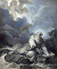 EZEKIEL'S VISION 1796 James Fittler - Philip James de Loutherbourg ETCHING