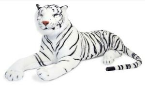 White Siberian Tiger Melissa And Doug Large Super Clean