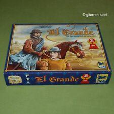 El Grande UNBESPIELT Der König und die Intriganten Spiel d. J 1996 ab 12 Jahren