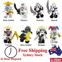 Ninjago Minifigures - Building Block Compatible - Toy Figurine Set