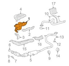 For Toyota Genuine Exhaust Manifold 1714121130