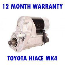 TOYOTA HIACE MK4 MK IV 2.5 2001 2002 2003 2004 2005 - 2015 STARTER MOTOR