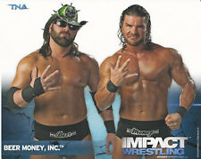 WWE TNA Wrestling Beer Money Inc. 8x10 promo photo