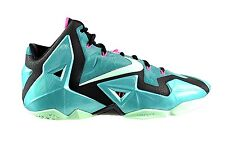 DS NIKE ZOOM LEBRON XI 11 SOUTH BEACH SIZE 10.5 616175-330 PINK TURQUOISE MINT