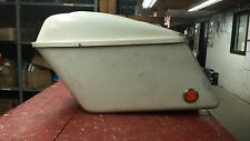 Harley-Davidson 1963-1984 Saddlebags Birch White