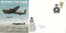 Beyond the Dams - 617 RAF  signed by Edward (Ted ) Wass Gunner with 617 Sqn