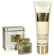 Miniature Jean Patou Joy 5ml EDP & 50ml Body Lotion Cream Women Perfume