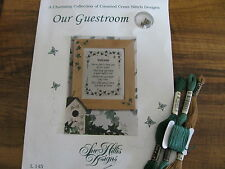 """Counted Cross Stitch Kit """"Our Guestroom"""" by Sue Hill's Design"""