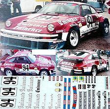 Porsche 934 Eminence LeMans 1980 1:24 Autocollant Décalcomanie