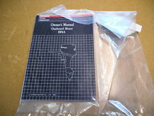 1987 Honda Factory Owners Manual BF8A Out Board Motor