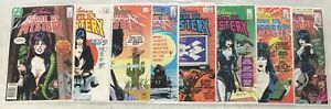 8x ELVIRA HOUSE OF MYSTERY comic # 1 2 3 5 6 7 8 10 Mistress of the Dark DC 1986