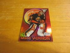 Mike Vernon 2000-01 Titanium Red #13 Serial #'d 120/299 Card NHL Calgary Flames