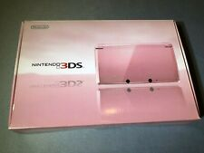 Nintendo 3DS Japanese console Misty Pink Japan Brand New