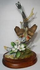 Porcelain, Scissor Tailed Flycatcher Bird Figurine, Andrea By Sadek