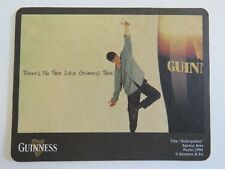 Beer Pub Coaster: GUINNESS & Co Stout, 1994 Anticipation Poster; Dublin, IRELAND
