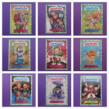 Garbage Pail Kids - We Hate The 80's Series 1 - Green Puke Parallel Card *New*