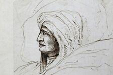 Portrait Pierre Joseph de Beauchamp (1752-1801) dessin encre astronomie Vesoul