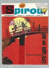 JOURNAL DE SPIROU N°1550 . 1967 + FICHES DOCUMENTATION . ( 580 ) .