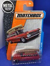 2017 Matchbox #1 '59 Chevy Wagon w/Canoe (#1-of-125)