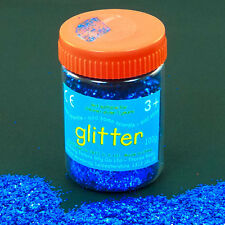 Blue Art and Craft Glitter - 100g Tub