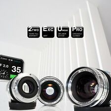 ***LIMITED: Olympus OM Zuiko MC Auto-W 35mm f/2.0 CUSTOM    A7, Z7, RP