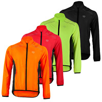 SHOWER PROOF WATER REPELLENT REFLECTIVE HIGH VISIBILITY CYCLING LIGHT JACKET