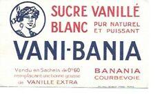 BUVARD 137153 BANANIA VANI BANIA SUCRE