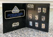 Star wars Star Tours Destination Guide 2011 Pin Set limited edition of 300