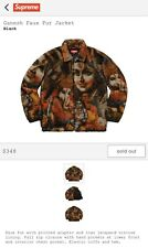 Supreme Ganesh Faux Fur Jacket In Hand Ready To Ship Size Large
