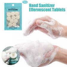 10Pcs DIY Natural Foaming Hand Wash Liquid Effervescent Tablets Hand Wash Foam