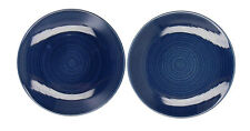 2 x Rorstrand Blue side plates midcentury Scandinavian pottery