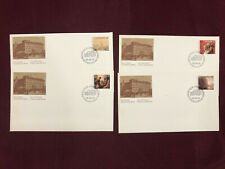4 Canadian First Day Covers Post Office 1980