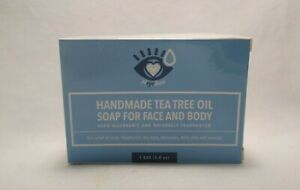 Heyedrate Handmade Natural Tea Tree Oil Face / Body Soap 5 oz