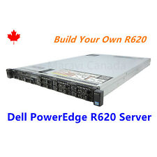 DELL PowerEdge R620 Server 2x E5-2680 8 Core CPU 64GB RAM 2x 1TB SAS H310 Raid