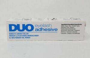 Brand NEW DUO Striplash False Eyelash Adhesive White Clear AUTHENTIC Lot of 3