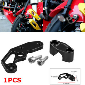 Motorcycle Bike Modification Accessories Black Oil Pipeline Clamp Aluminum Alloy