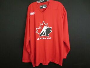 TEAM CANADA Bauer Olympic Hockey Training Practice Jersey Size Large