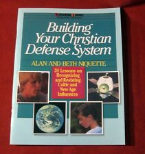 Cult New Age Christian Bible Young Adult Teacher Group Building Lesson Church