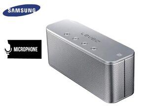 Samsung Level Box Mini Wireless Bluetooth Speaker in Silver Model:EO-SG900DSEGWW