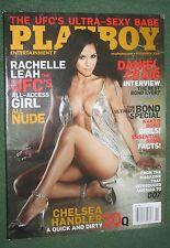 Playboy Nov 2008 UFC's Rachelle Leah NUDE POM Grace Kim Daniel Craig interview