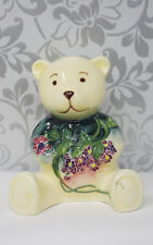 Old Tupton Ware  5905 Birthday China Teddy Bear May Floral Flowers Wisteria
